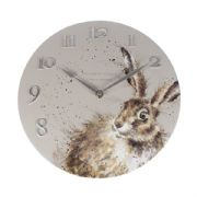 Wrendale Hare Clock